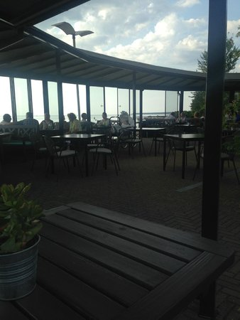 Paat Restaurant with the gulf of Tallinn behind