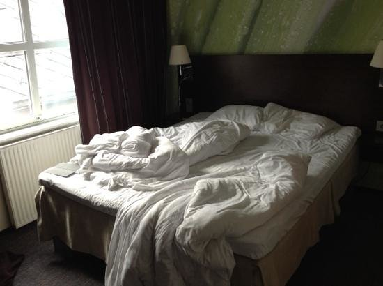 Comfort Hotel Trondheim : comfortable bed - 8 hours of dream sleep with lazy morning
