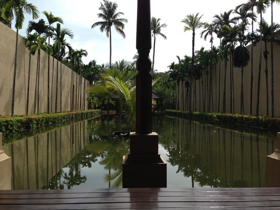 Four Seasons Resort Langkawi, Malaysia: Check-in Greeting area