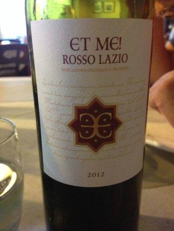 LOVE EAT - ITALIAN LUXURY BURGER : vino laziale