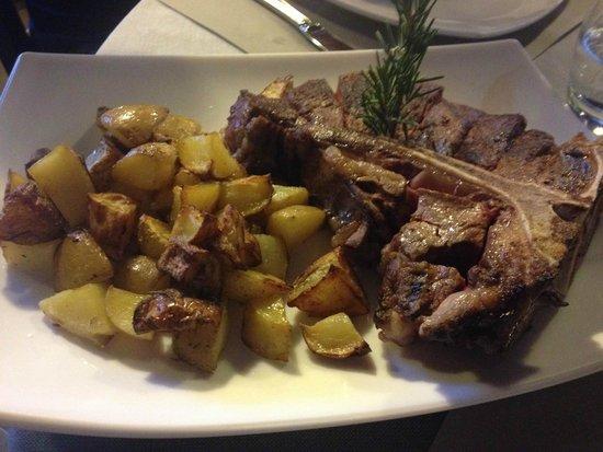 LOVE EAT - ITALIAN LUXURY BURGER : fiorentina con patate al forno