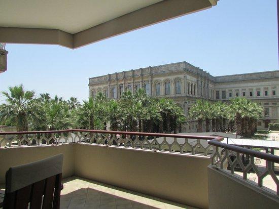 Ciragan Palace Kempinski Istanbul: The view form room 163