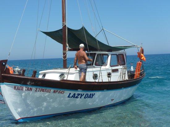 Captain Vasilis Boat Tour: Lazy Day Boat Trip