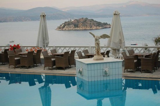 Hotel King Minos: Endroit pour l'apéritif par exemple... :-)