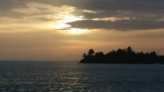 Sun Island Resort: From the beach at sunset