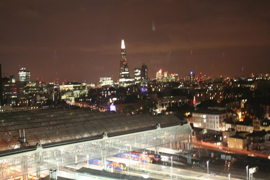 Park Plaza County Hall London: London Skyline with The Shard and Waterloo Station as backdrop
