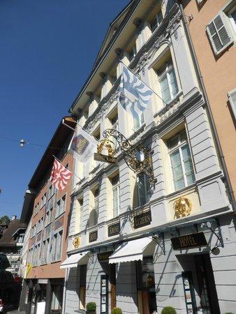 Altstadt Hotel Krone Luzern: The hotel front