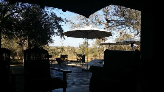 Mvuradona Safari Lodge: View from the Lounge