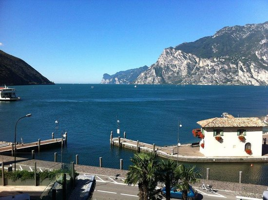 Hotel Lago di Garda: View from room on level 3