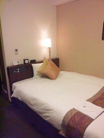 Richmond Hotel Sendai : ベットは快適です