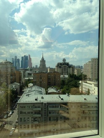 Lotte Hotel Moscow : Perfect view from room
