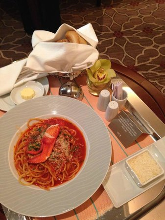 Lotte Hotel Moscow: Room Service