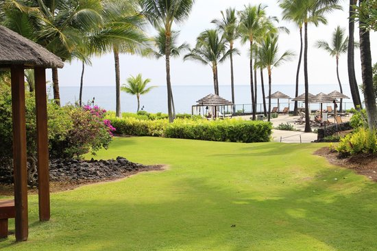 Sheraton Kona Resort & Spa at Keauhou Bay : Hotel grounds.