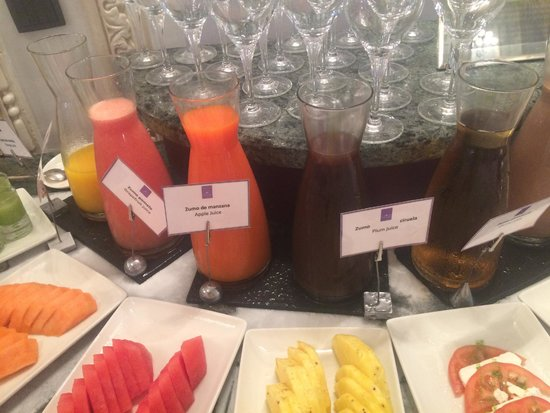 Hotel Maria Cristina, a Luxury Collection Hotel, San Sebastian: Juice
