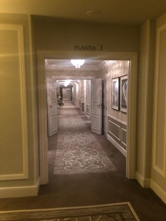 Hotel Maria Cristina, a Luxury Collection Hotel, San Sebastian : Hallway