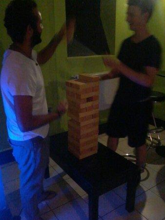 X Hostel Bucharest: Games :-)
