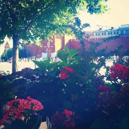 Bosco Bar: Зеленая зона на Красной Площади