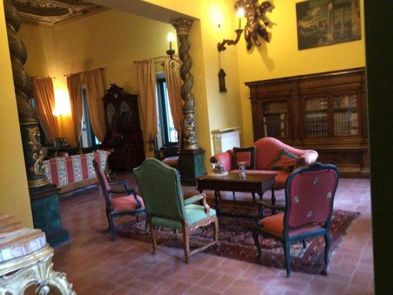 Villa Milani - Residenza d'epoca: Zitkamer