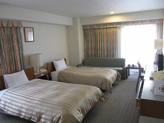 Hotel Gimmond Kyoto : 設備は古めですが清潔です