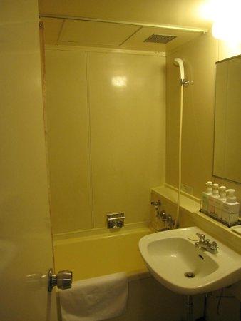 Hotel Gimmond Kyoto: バスルームは狭めです