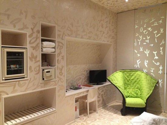 Hotel Rathaus Wein & Design: the room