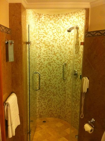 Shangri-La Hotel, Singapore : Doccia