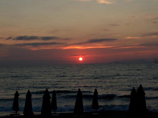 Hotel Biodola: tramonto
