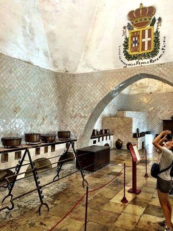 Palacio Nacional de Sintra: Kitchen in the Palace of Sintra
