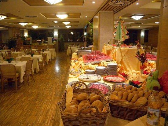 Club Hotel Regina e Fassa: Buffet