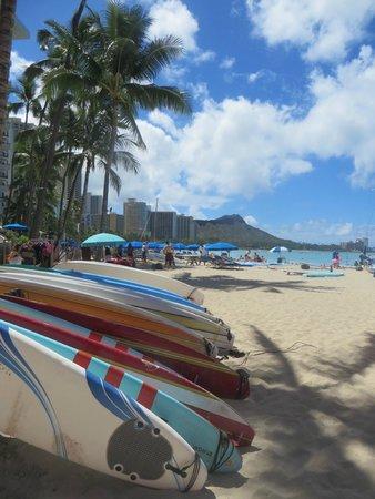 The Royal Hawaiian, a Luxury Collection Resort: サーフボード
