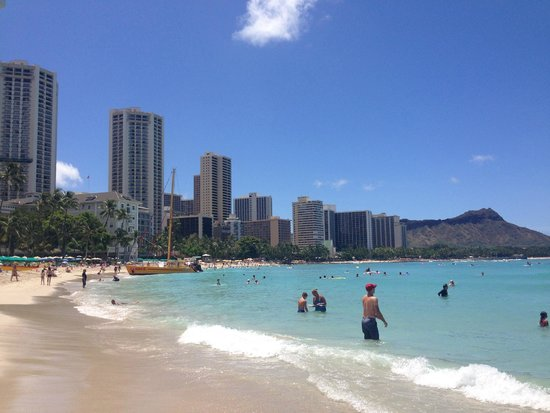 The Royal Hawaiian, a Luxury Collection Resort: ワイキキビーチ