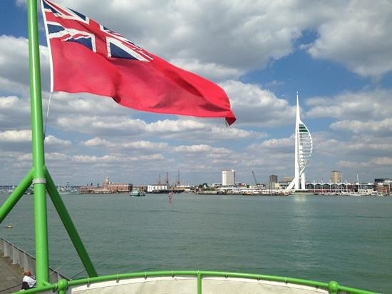 Trinity's At The Lightship: The View Astern