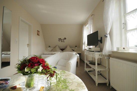 Inselhotel Arfsten: Doppelzimmer der preiswertesten Kategorie