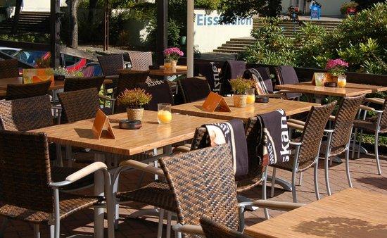Altes Forsthaus Braunlage: Restaurant Terrasse