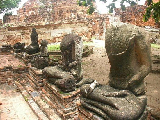 Wat Mahathat : アユタヤ ワット・プラ・マハタート