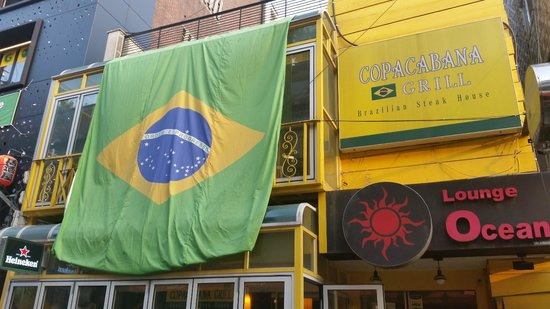 The front of Copacabana grill