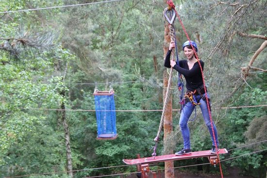 Obstacle Course and Adventure Park: fot. J Pindych