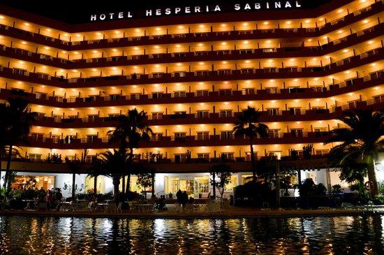 Best Sabinal: hotel vu du parc de la piscine