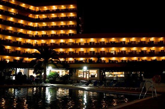 Hotel Best Sabinal: hotel vu du parc de la piscine