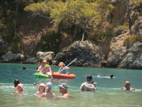 Pink Palace: Blue Lagoon in Oludeniz