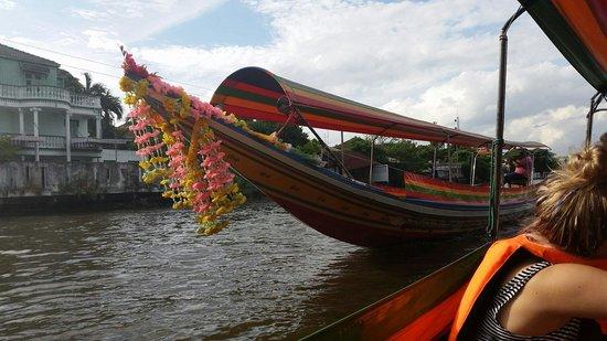 Chao Phraya River: Long boat