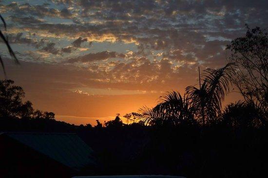 Costa del Sol Iguazu: Puesta del sol en el Paraná