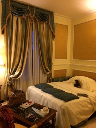 Grand Visconti Palace: Geweldige slaapbank voor onze dochter.