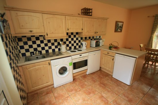 Beechwood Lodge: Delacy well equipped open plan kitchen