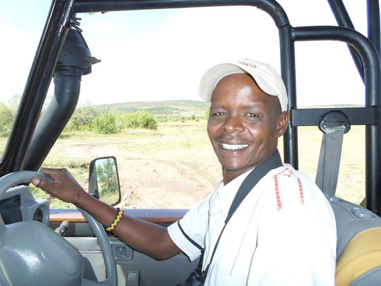 Enkewa Camp: Johnson Ngila is our guide at Enkewa Mara Camp
