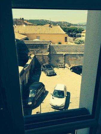 Hotel de Paris Saint-Tropez: The wiew from the window