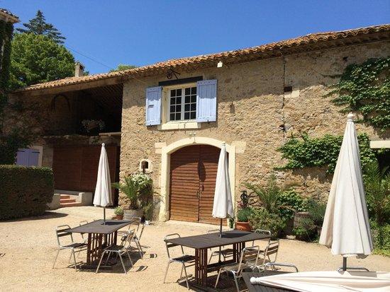 Chateau du Puits es Pratx : View form the courtyard