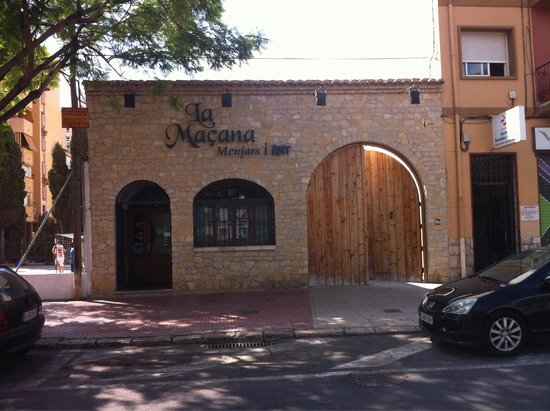Province of Alicante, Spain: Restaurante la Maçana