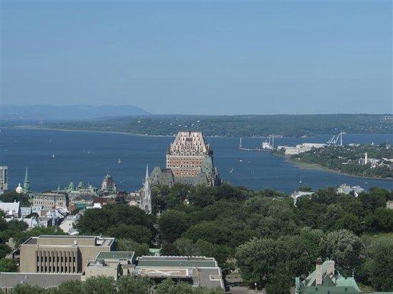 Hôtel Le Concorde Québec : Great view