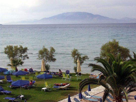Alykanas Beach Apart-Hotel: balcony view